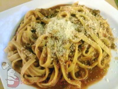 Ricetta Fettuccine al pomodoro