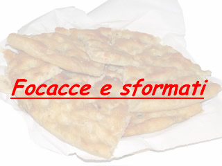 Ricetta Focaccia col formaggio, rucola e pomodori