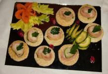Ricetta Antipasto di zucchine e salmone
